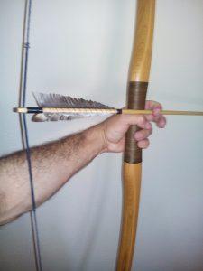 Armas de madeira Ipê.
